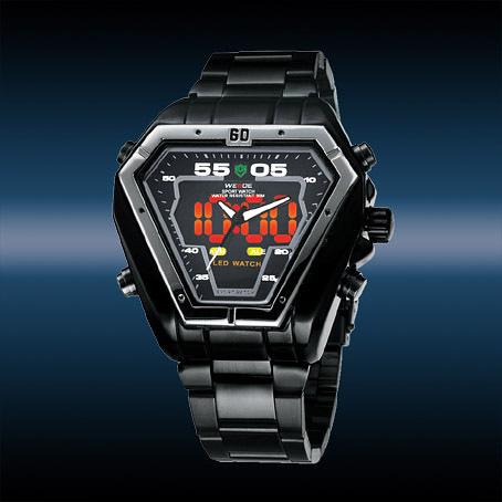 82c6ac433eb Pánske hodinky WEIDE BLACK