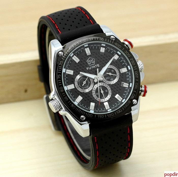 Pánske hodinky FUYATE SPORT BLACK 4a725ea591
