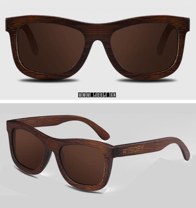 f3bed2f2d Okuliare slnečné | Bamboo unisex slnečné okuliare | jeej.sk