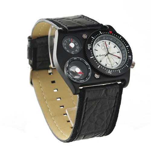 Hodinky OULM Military BLACK 253ccb9dc1