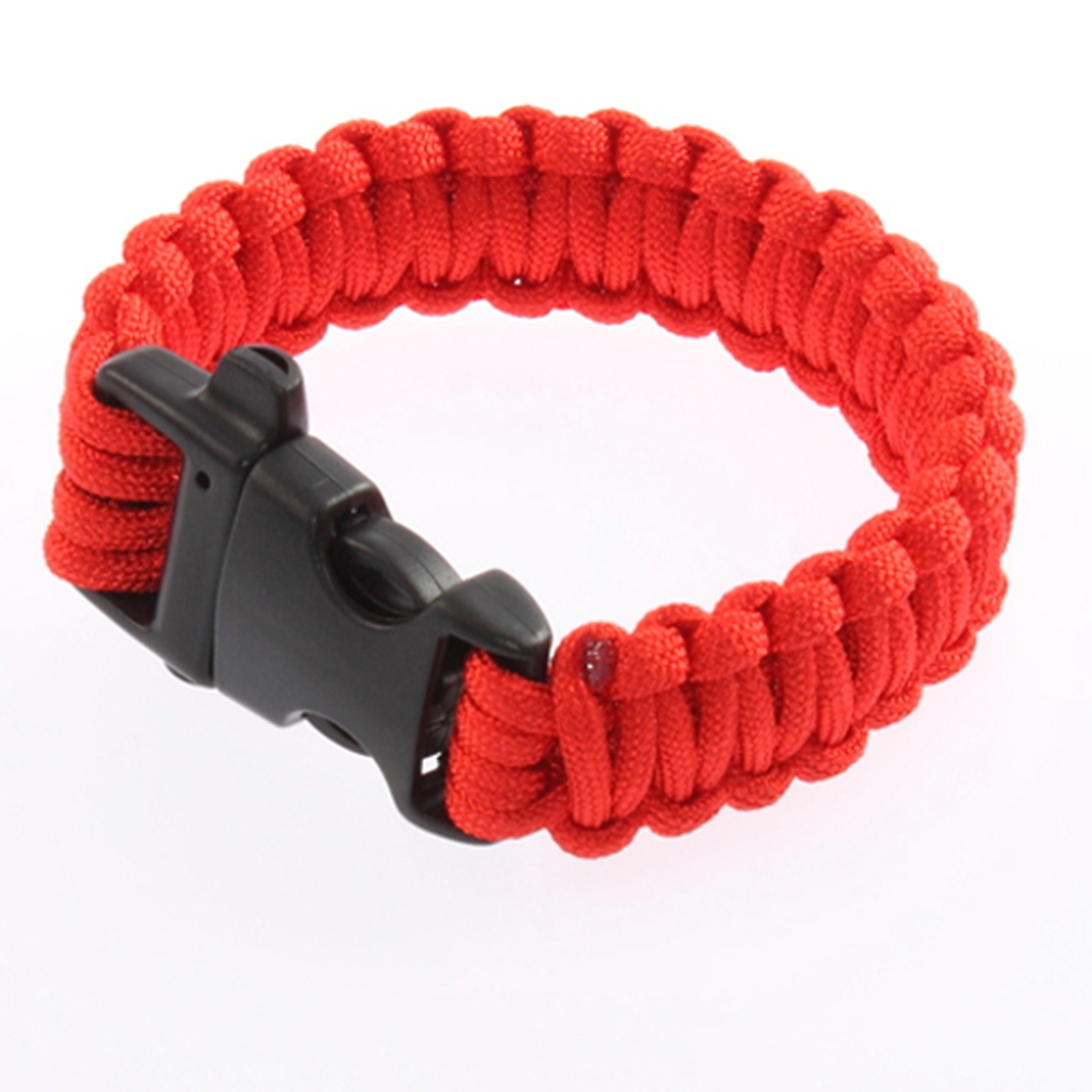 PARACORD náramok BRIGHT RED