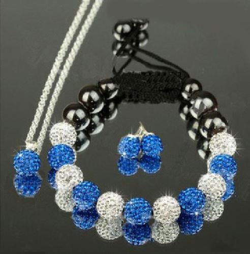 SHAMBALA set SILVER ROYAL BLUE