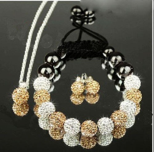SHAMBALA set WHITE GOLD