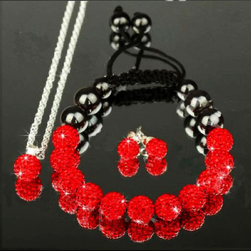 SHAMBALA set ROYAL RED