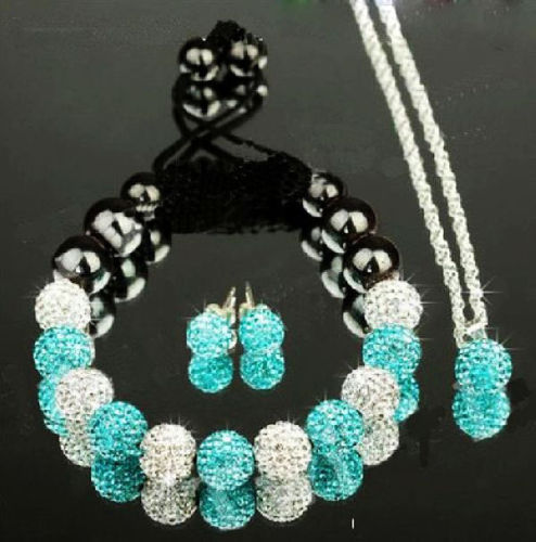 SHAMBALA set SILVER SEA BLUE