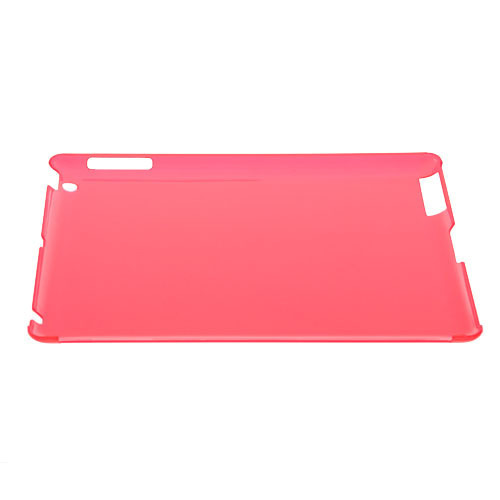 Obal pre Ipad 3 HARD CASE transparent red