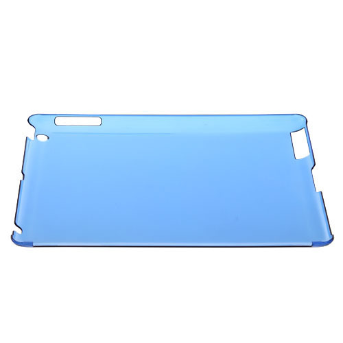 Obal pre Ipad 3 HARD CASE transparent blue
